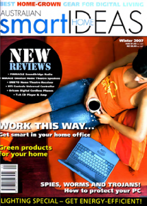 5thCorner Technology Lounge Article - Smart Home Ideas Winter 07 Edition Cover